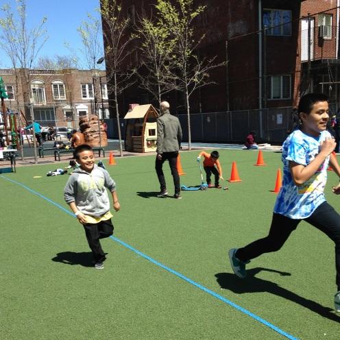 H2O relay race!